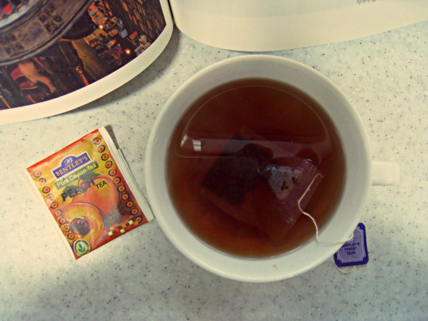 Nalda Tea Bentley S Pure Ceylon Peach Tea